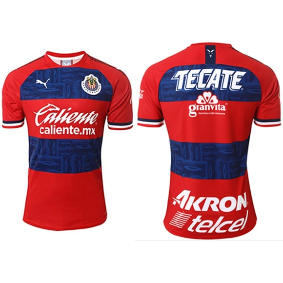 info for b1796 6e609 Chivas De Guadalajara Away Soccer Jersey 2019/2020 NWT